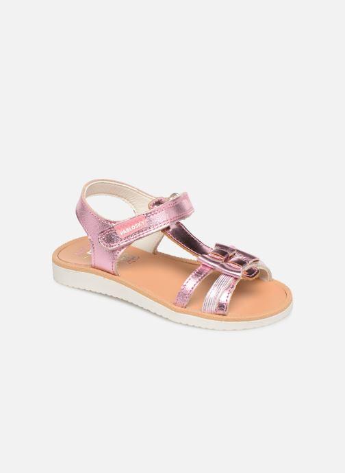 Sandales et nu-pieds Pablosky Betty Argent vue détail/paire