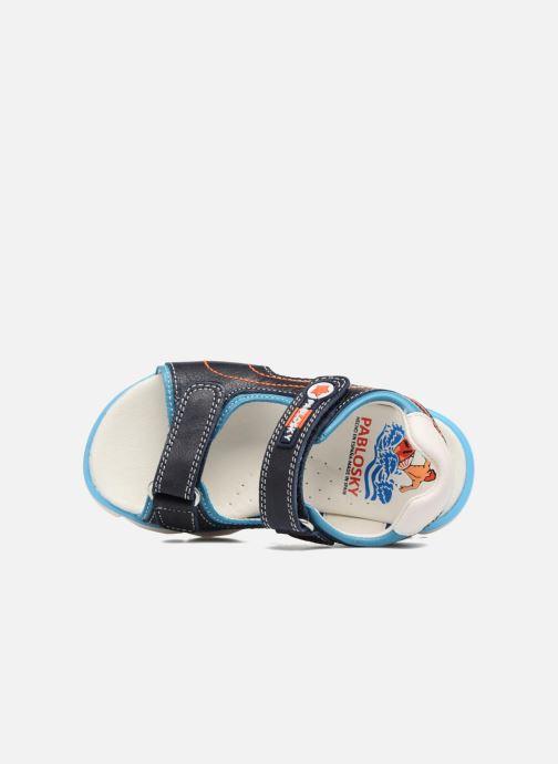 Sandales et nu-pieds Pablosky Arturo Bleu vue gauche