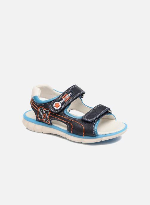 Sandaler Pablosky Arturo Blå detaljeret billede af skoene