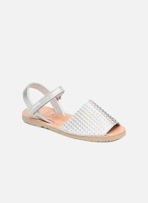 Sandales et nu-pieds Pablosky Clarisa Argent vue détail/paire