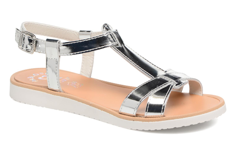 Sandales et nu-pieds Pablosky Eda Argent vue détail/paire