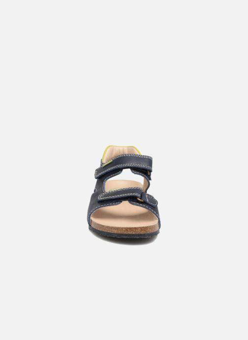 Sandales et nu-pieds Pablosky Filippo Bleu vue portées chaussures