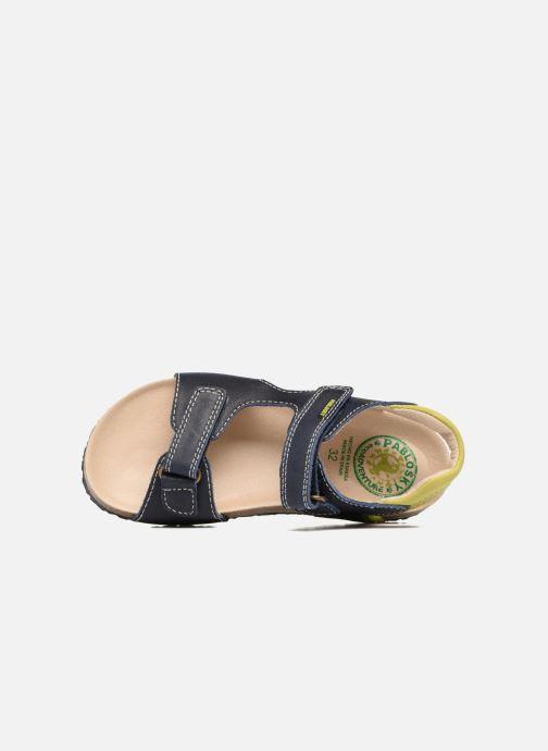 Sandales et nu-pieds Pablosky Filippo Bleu vue gauche