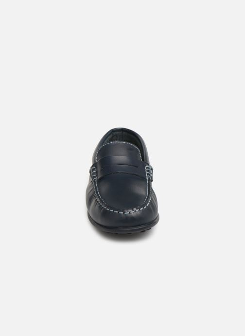 Mocassins Pablosky Cristobal Bleu vue portées chaussures