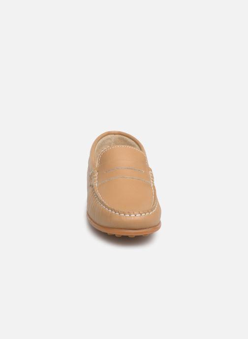 Mocassins Pablosky Cristobal Beige vue portées chaussures