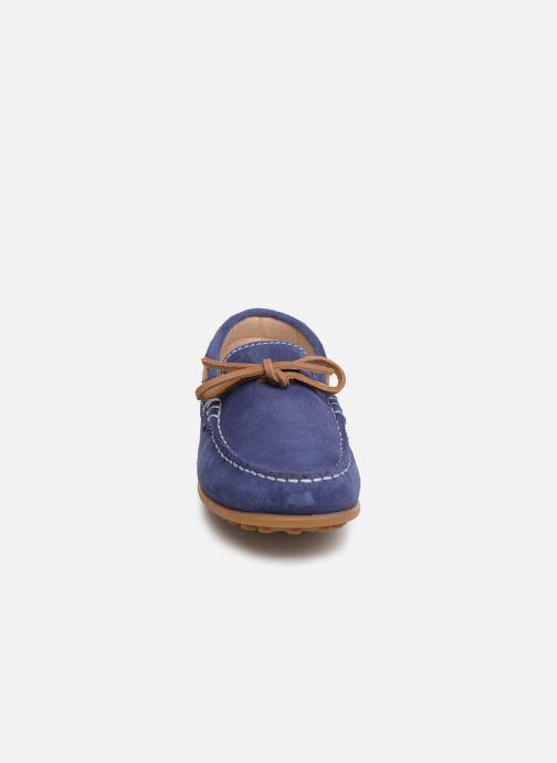 Slipper Pablosky Danielo blau schuhe getragen