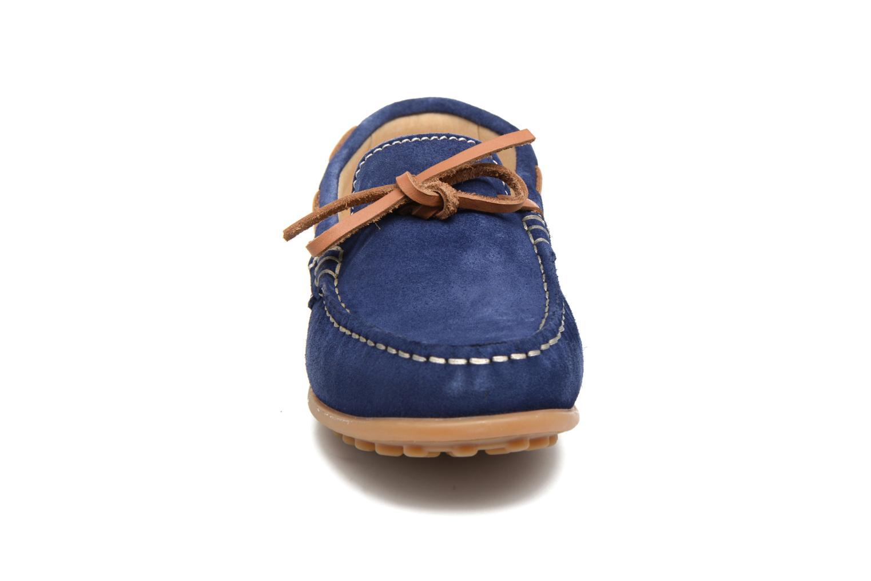 Mocassins Pablosky Danielo Bleu vue portées chaussures