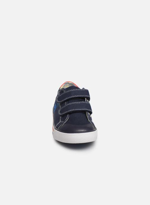 Baskets Pablosky Goar Bleu vue portées chaussures