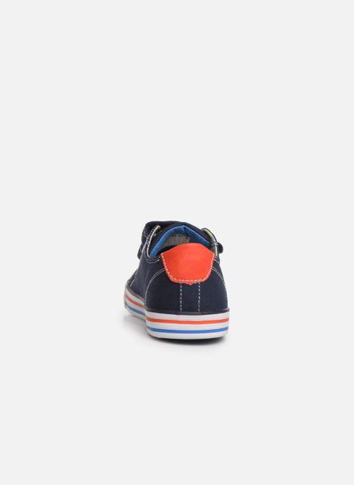 Baskets Pablosky Goar Bleu vue droite