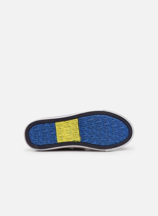 Baskets Pablosky Goar Bleu vue haut