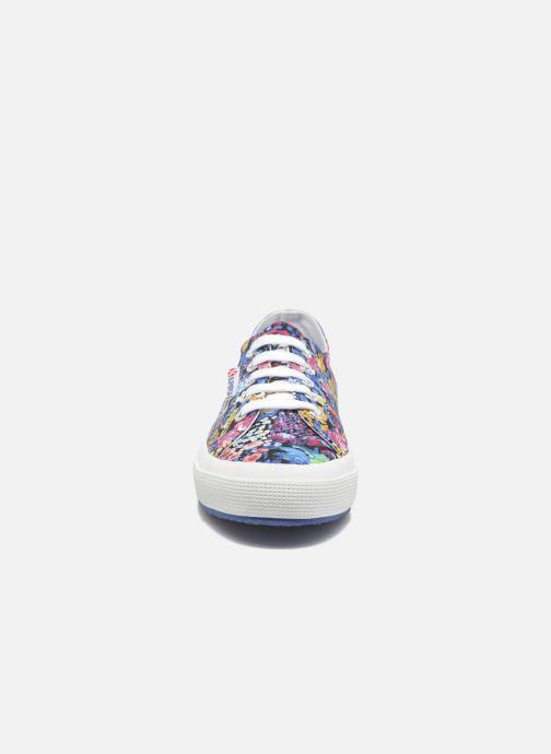 Baskets Superga 2750 Fabric Liberty W Multicolore vue portées chaussures
