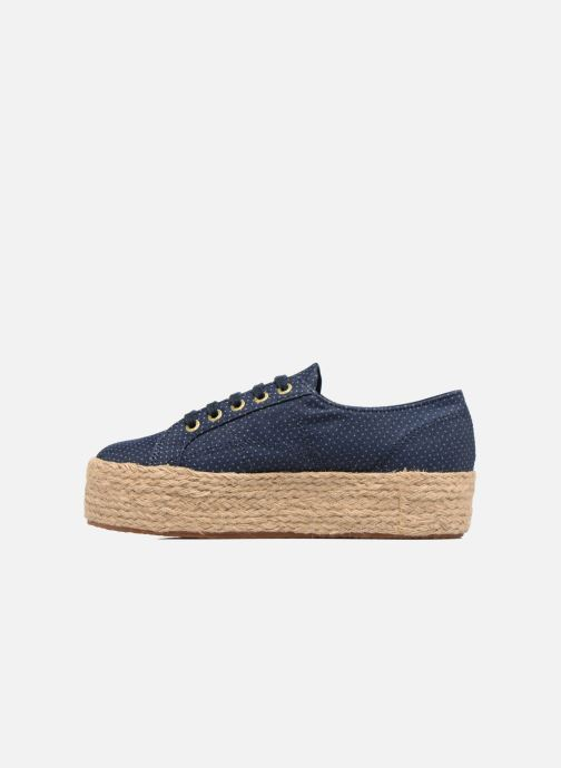 Alpargatas Superga 2790 Fabric Shirttrope W Azul vista de frente