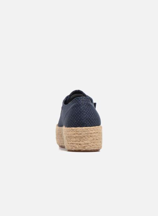 Espadrillos Superga 2790 Fabric Shirttrope W Blå Se fra højre