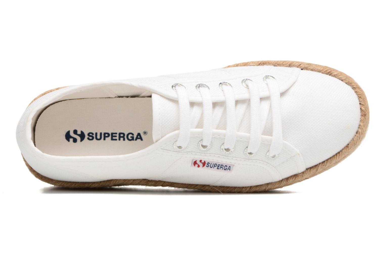 Baskets Superga 2790 Cotropew Blanc vue gauche
