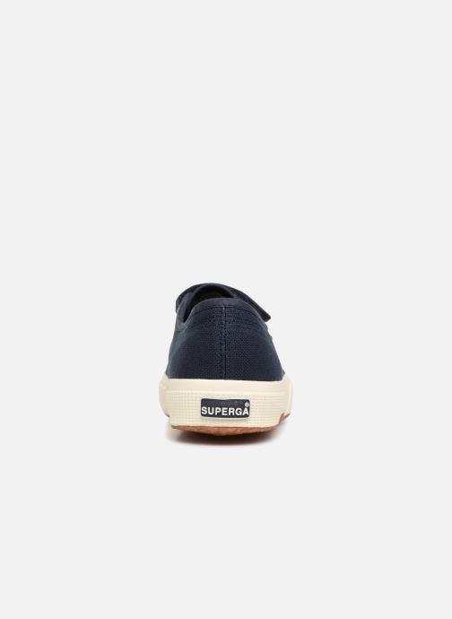 Sneakers Superga 2750 Cot 3 Strapu Blauw rechts