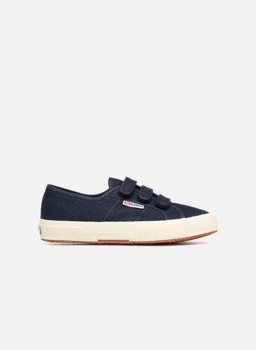 Sneakers Superga 2750 Cot 3 Strapu Blauw achterkant
