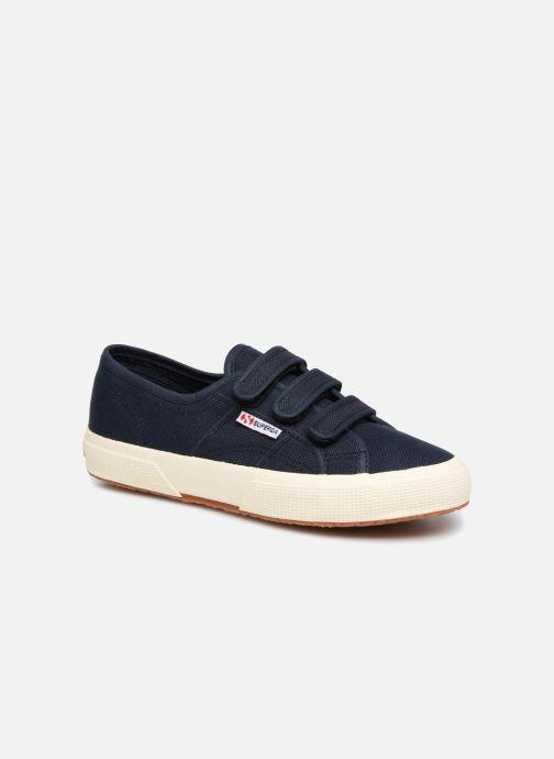 Sneakers Superga 2750 Cot 3 Strapu Blauw detail