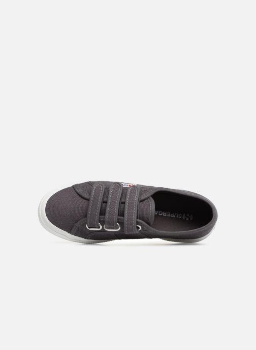 Sneakers Superga 2750 Cot 3 Strapu Grijs links