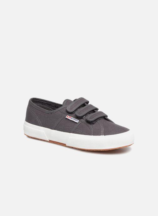 Sneakers Superga 2750 Cot 3 Strapu Grijs detail