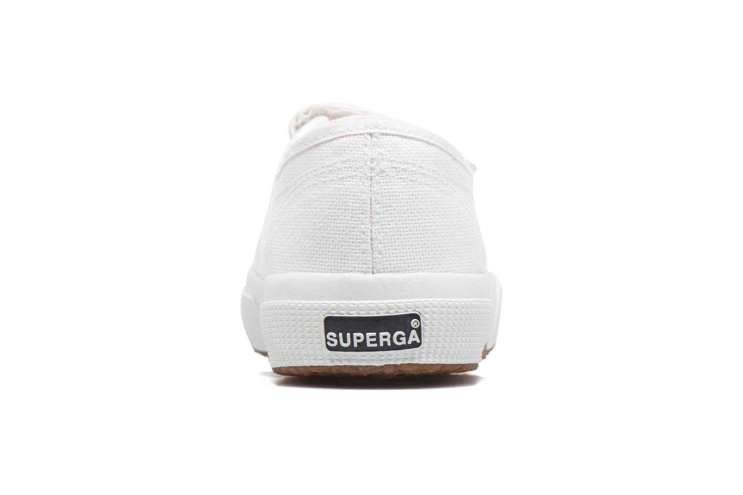 Sneakers Superga 2750 Cot 3 Strapu Wit rechts