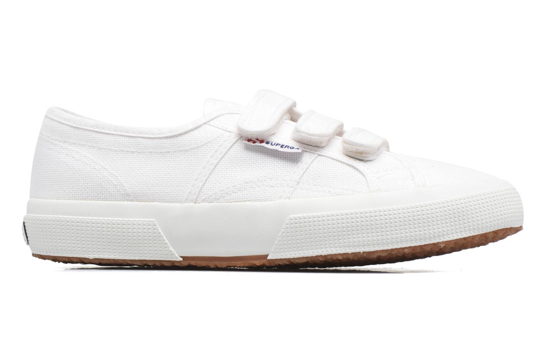 Sneaker Superga 2750 Cot 3 Strapu weiß ansicht von hinten