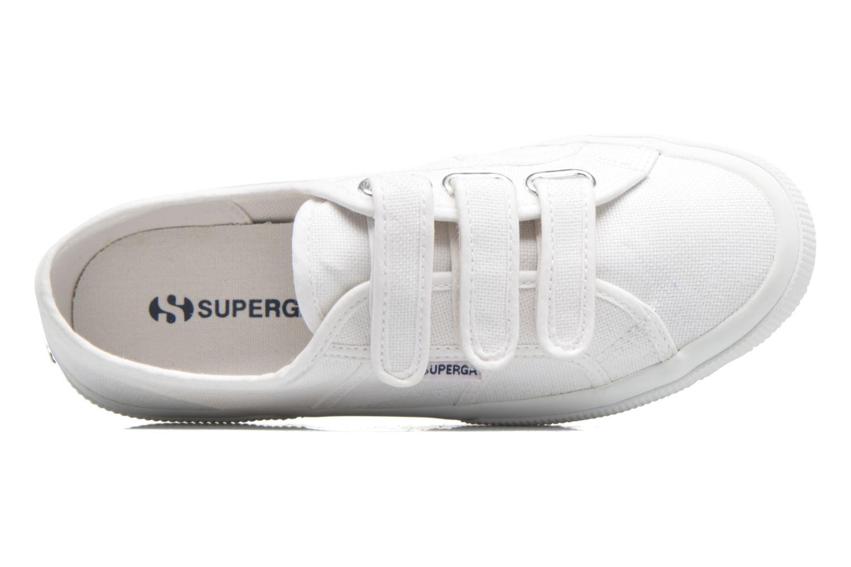 Sneaker Superga 2750 Cot 3 Strapu weiß ansicht von links