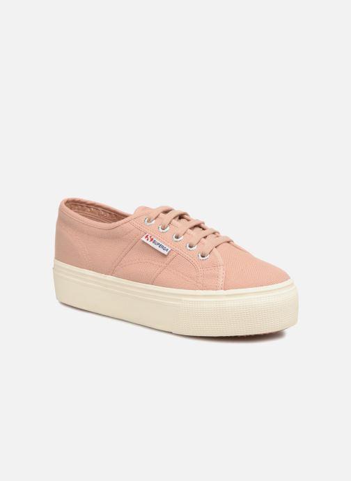 Sneakers Superga 2790 Cot W Linea Roze detail