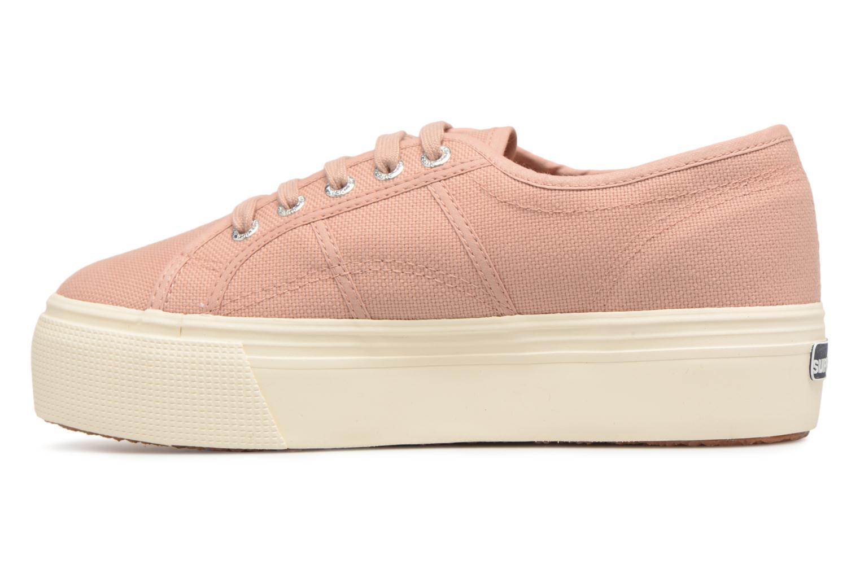 Sneakers Superga 2790 Cot W Linea Roze voorkant