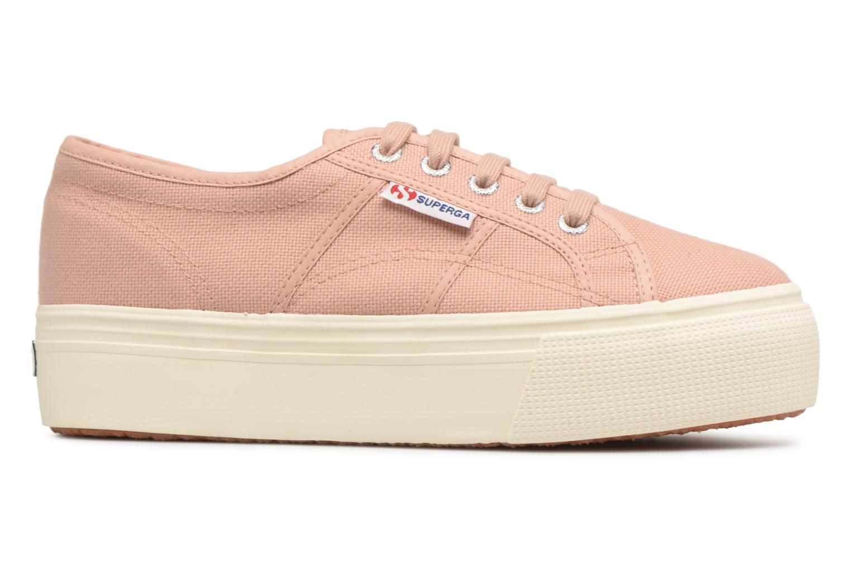Sneakers Superga 2790 Cot W Linea Roze achterkant