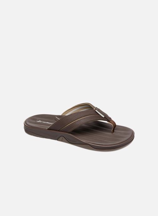 Flip flops Rider Ventor II thong AD Brown detailed view/ Pair view
