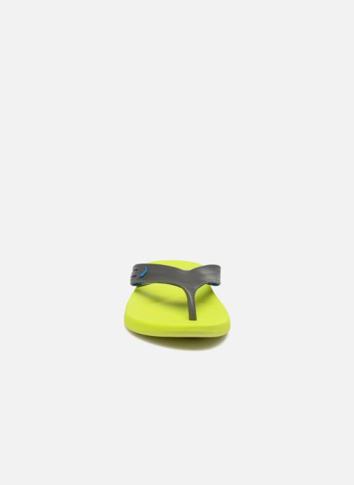 Tongs Rider Easy thong AD Jaune vue portées chaussures