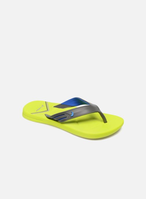 Tongs Rider Easy thong AD Jaune vue détail/paire