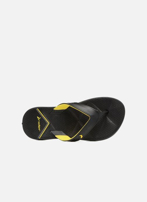 Tongs Black yellow Easy Ad Thong Rider jzpLSUVqMG