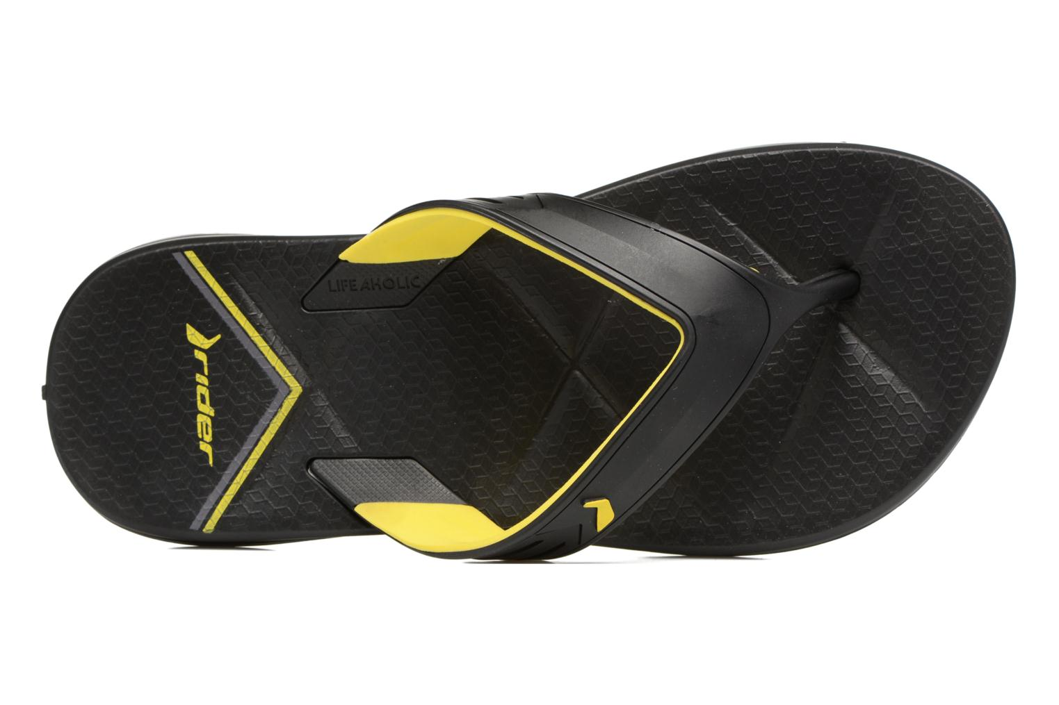 Flip flops Rider Easy thong AD Black view from the left