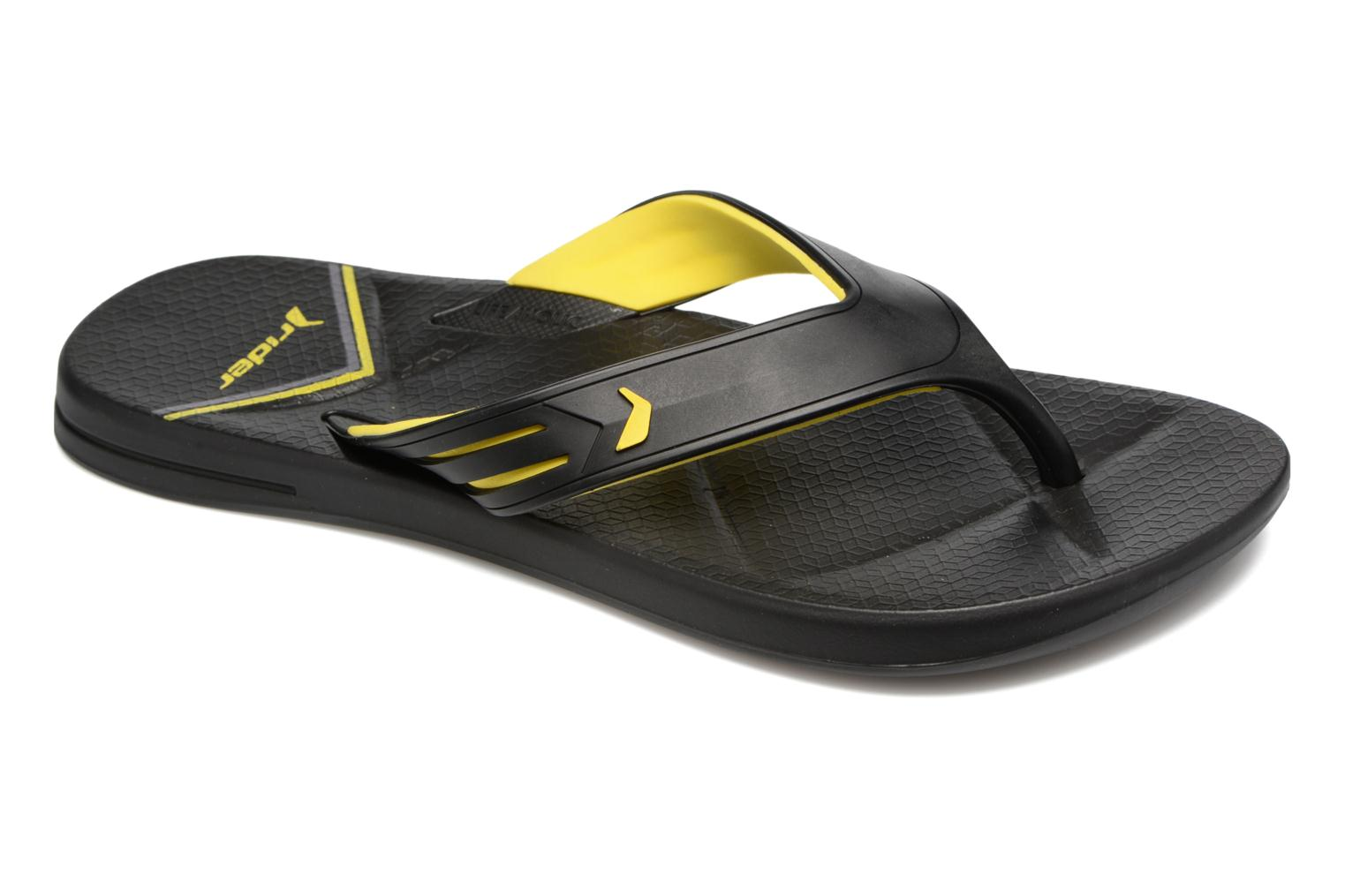 Flip flops Rider Easy thong AD Black detailed view/ Pair view