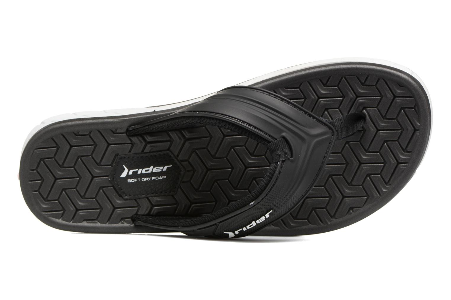 Flip flops Rider Next II AD Black view from the left