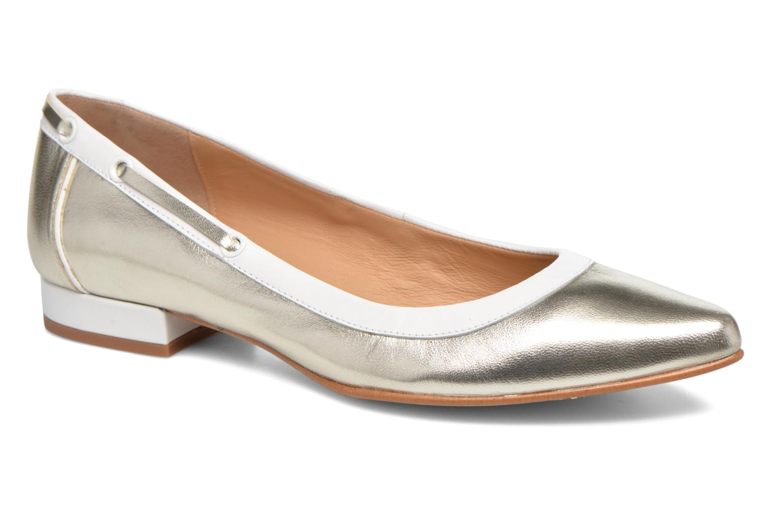 Ballet pumps Made by SARENZA Sugar Shoegar #5 Silver view from the right