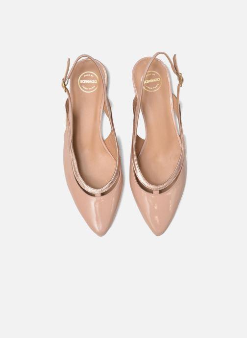 Bailarinas Made by SARENZA Sugar Shoegar #3 Beige vista del modelo