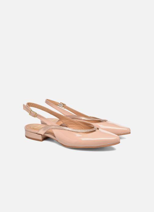 Ballerina's Made by SARENZA Sugar Shoegar #3 Beige achterkant