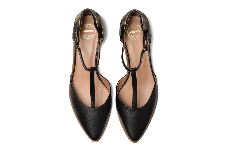 Ballerinaer Made by SARENZA Vegas Lipstick #4 Sort se skoene på