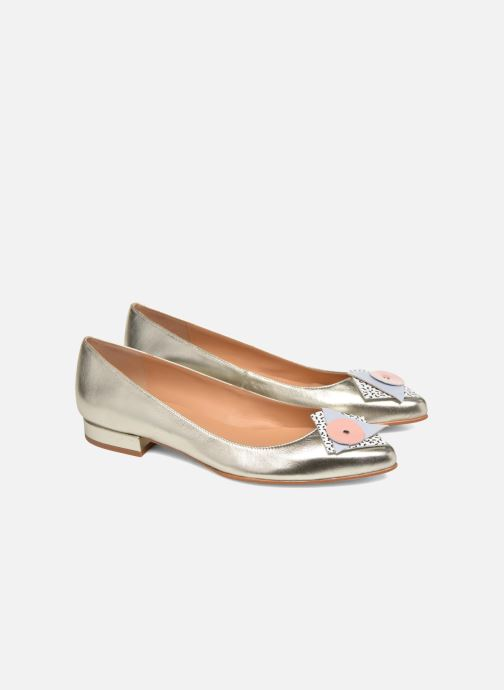 Ballerina's Made by SARENZA Sugar Shoegar #4 Zilver achterkant