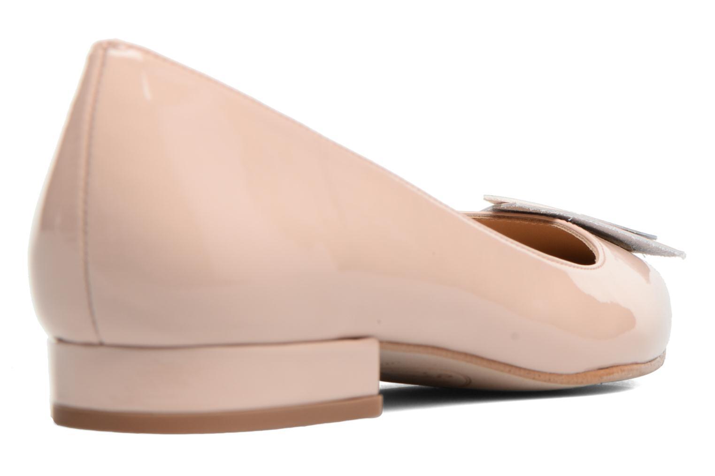 Ballet pumps Made by SARENZA Sugar Shoegar #4 Beige front view
