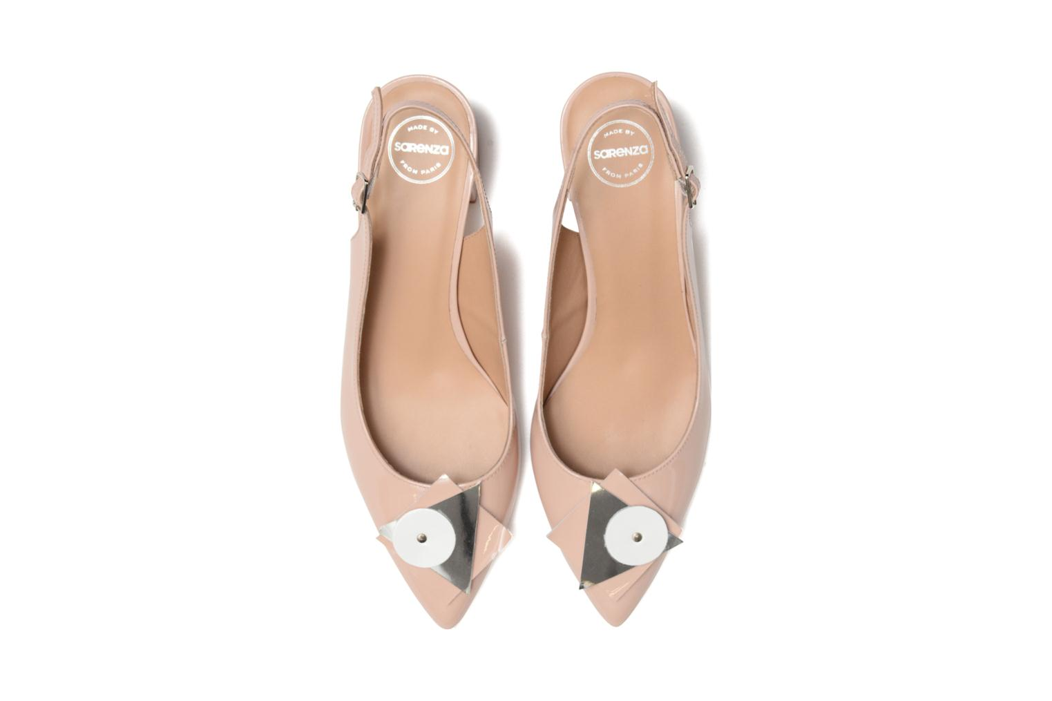 Pumps Made by SARENZA Donut hut #8 beige schuhe getragen
