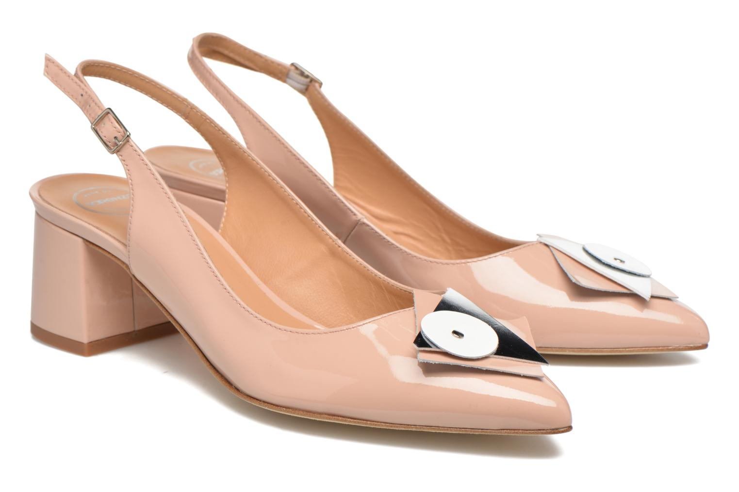 Pumps Made by SARENZA Donut hut #8 Beige achterkant