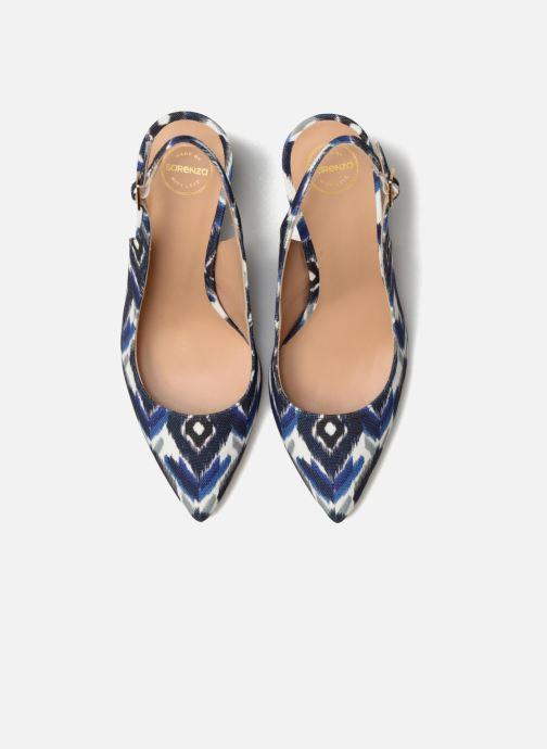 High heels Made by SARENZA 90's Girls Gang Escarpins #4 Blue model view