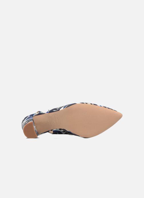 High heels Made by SARENZA 90's Girls Gang Escarpins #4 Blue view from above
