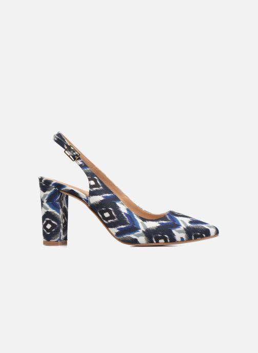 High heels Made by SARENZA 90's Girls Gang Escarpins #4 Blue detailed view/ Pair view