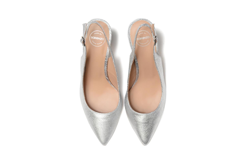 Høje hæle Made by SARENZA 90's Girls Gang Escarpins #4 Sølv se skoene på