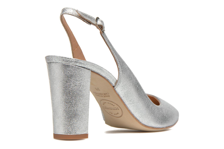 Høje hæle Made by SARENZA 90's Girls Gang Escarpins #4 Sølv se forfra