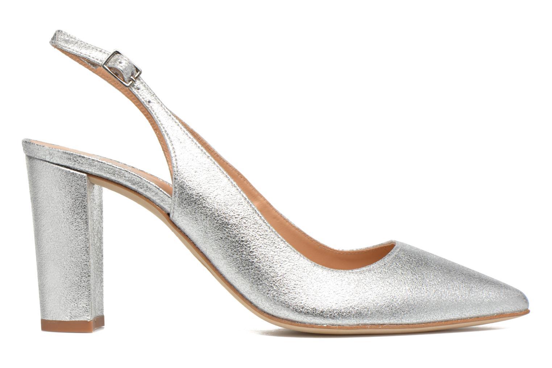 Høje hæle Made by SARENZA 90's Girls Gang Escarpins #4 Sølv detaljeret billede af skoene